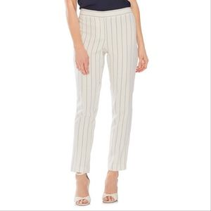 New Vince Camuto Pinstripe Ankle Pants 12